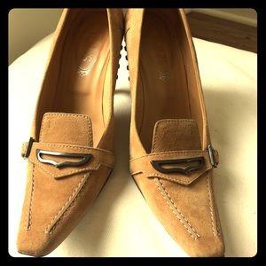 Tod's suede high heels